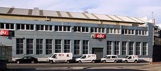 Alju- Granalladoras y ventilación industrial fachada